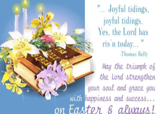 May The Triumph Of The Lord Strengthen Your Soul And Grace You With Happiness And Success On Easter & Always