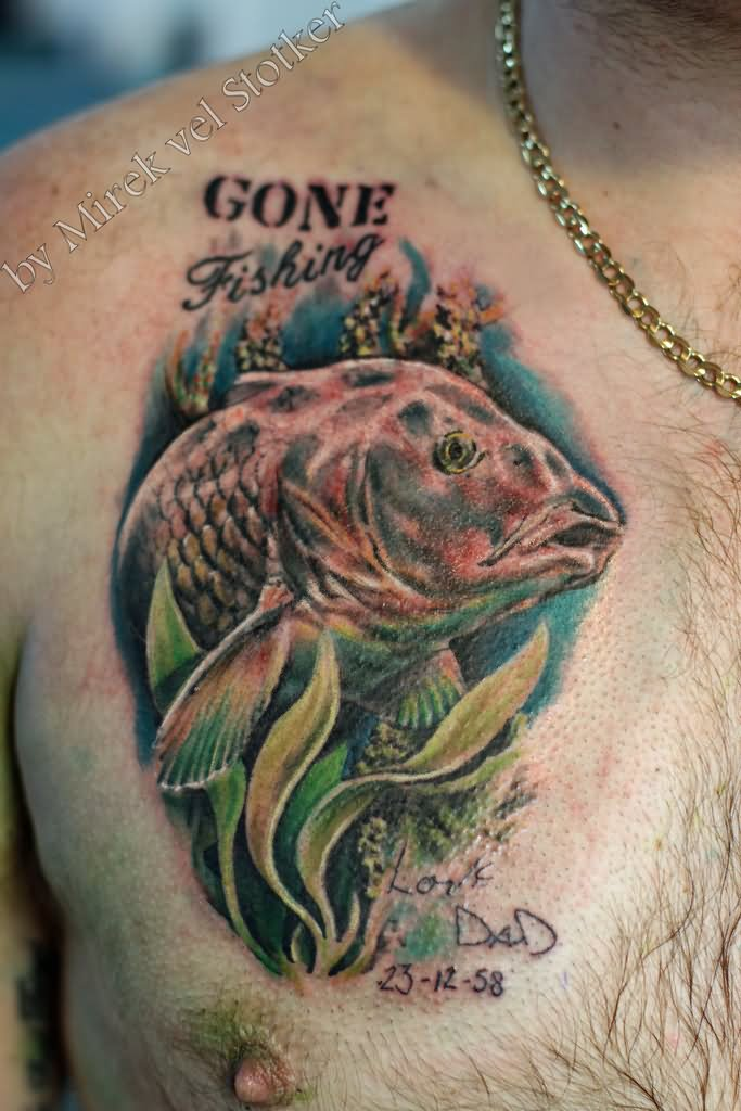 Carp Fish Tattoo Images Designs: Carp Fish Tattoos