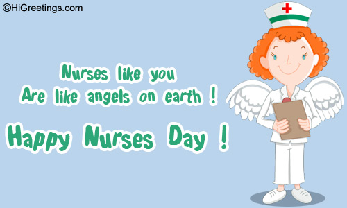 30 most beautiful nurses day wish picture and images nurses like you are like angels on earth happy nurses day m4hsunfo Choice Image