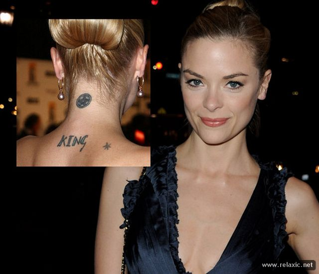 30 beautiful celebrity tattoos. Black Bedroom Furniture Sets. Home Design Ideas