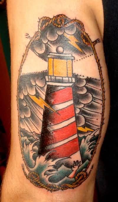 6+ Lighthouse Tattoos On Sleeve