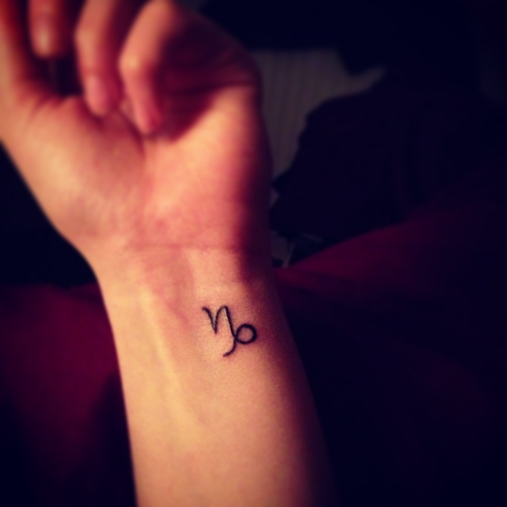 15 Capricorn Tattoos On Wrist