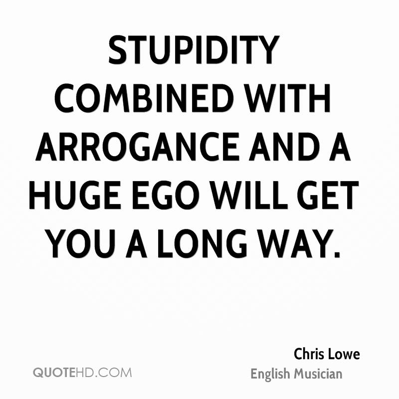 funny arrogant quotes