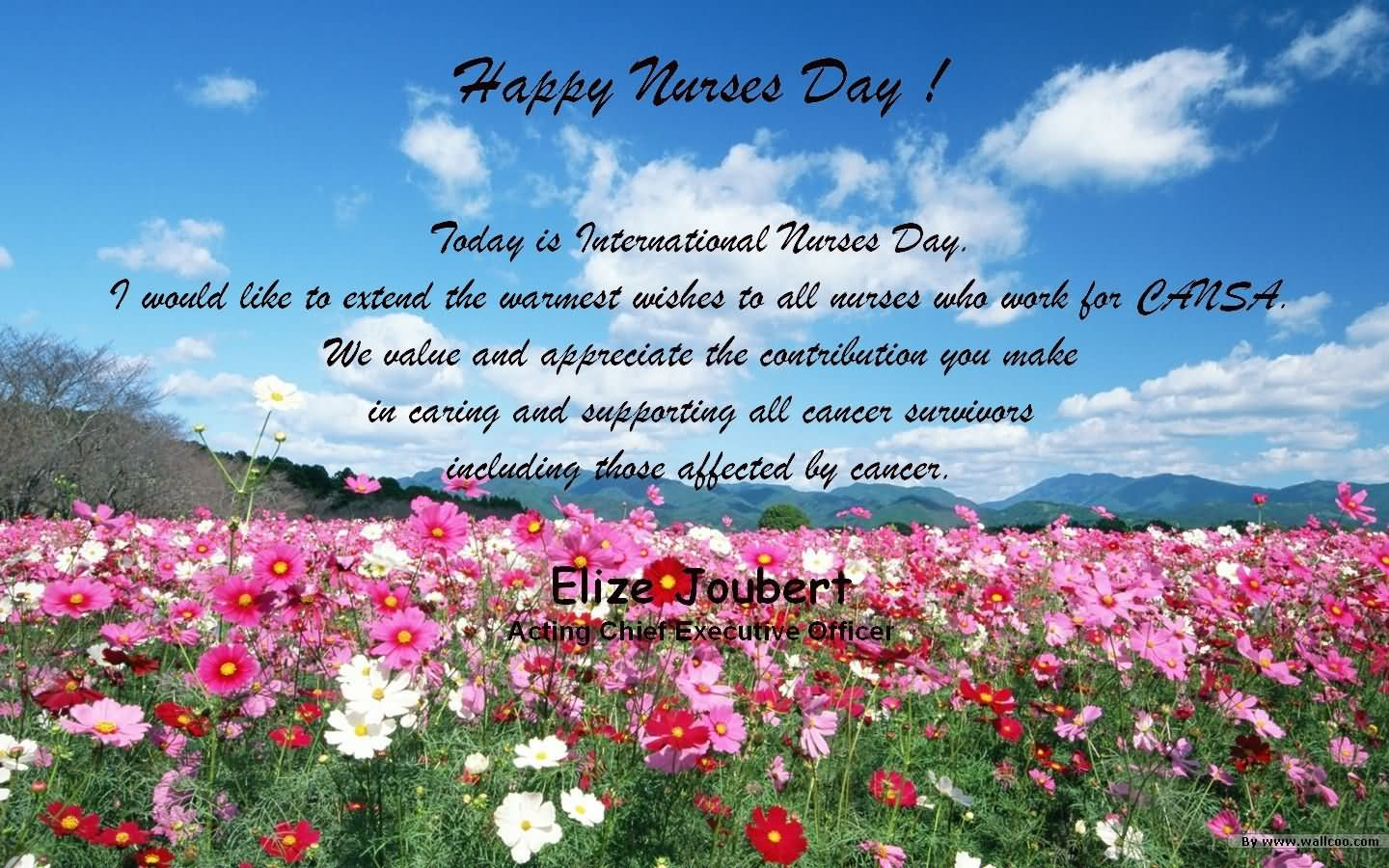 30 Most Beautiful Nurses Day Wish Picture And Images