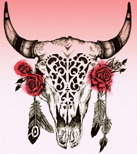Bull Head Tattoos