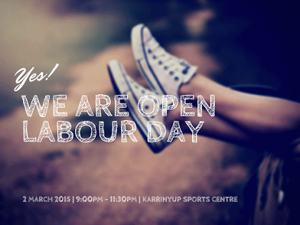 We Are Open Labour Day