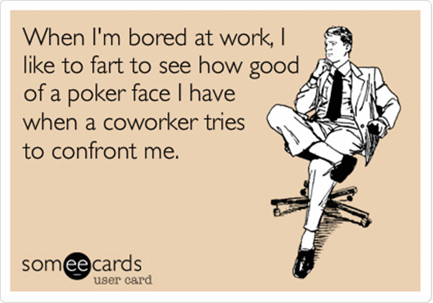 i like to work