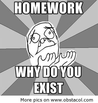Homework haterz