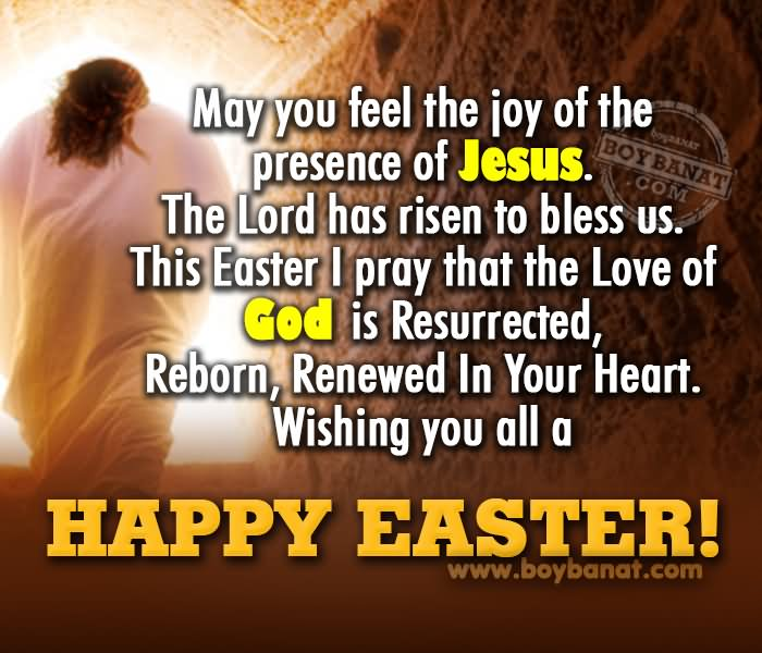 Wishing You All A Happy Easter