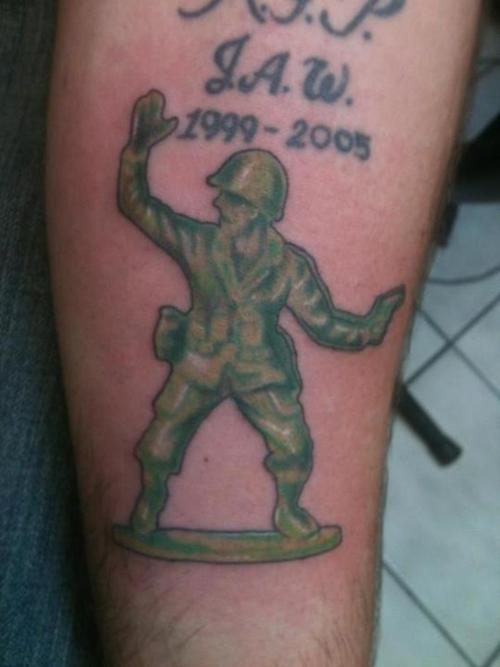 e8cfc997f Amazing Memorial Army Soldier Tattoo Design For Sleeve