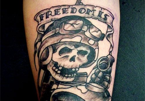 31 Army Skull Tattoo Ideas