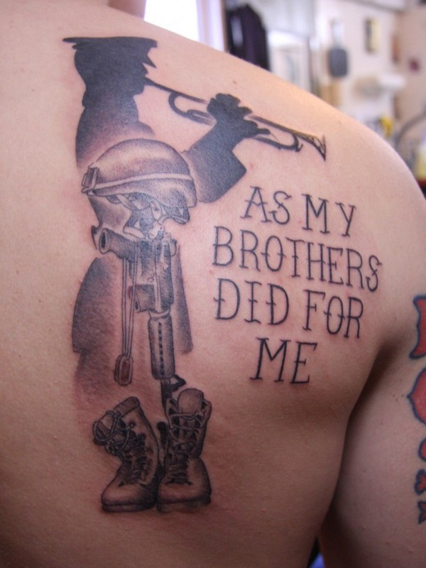 50 best army tattoos for Tattoos for me