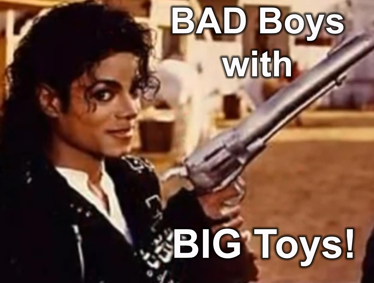 Funny Memes For Boys : Bad boys with big toys funny michael jackson picture