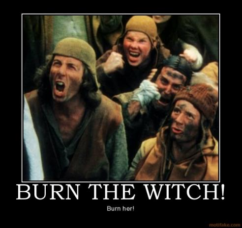 Burn The Witch Funny Image