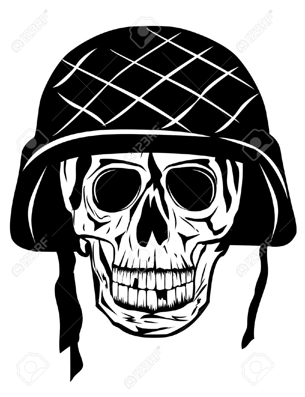 20+ Army Skull Tattoo Designs