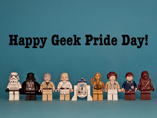 30 Adorable Geek Pride Day Wish Pictures And Images
