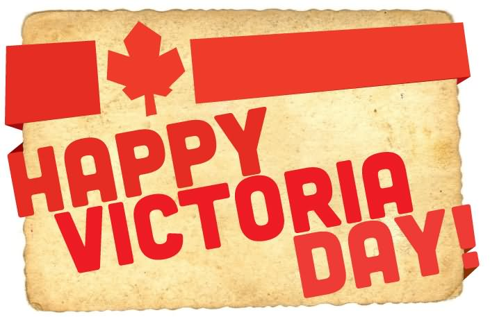 Happy Victoria Day Canada Flag Photo