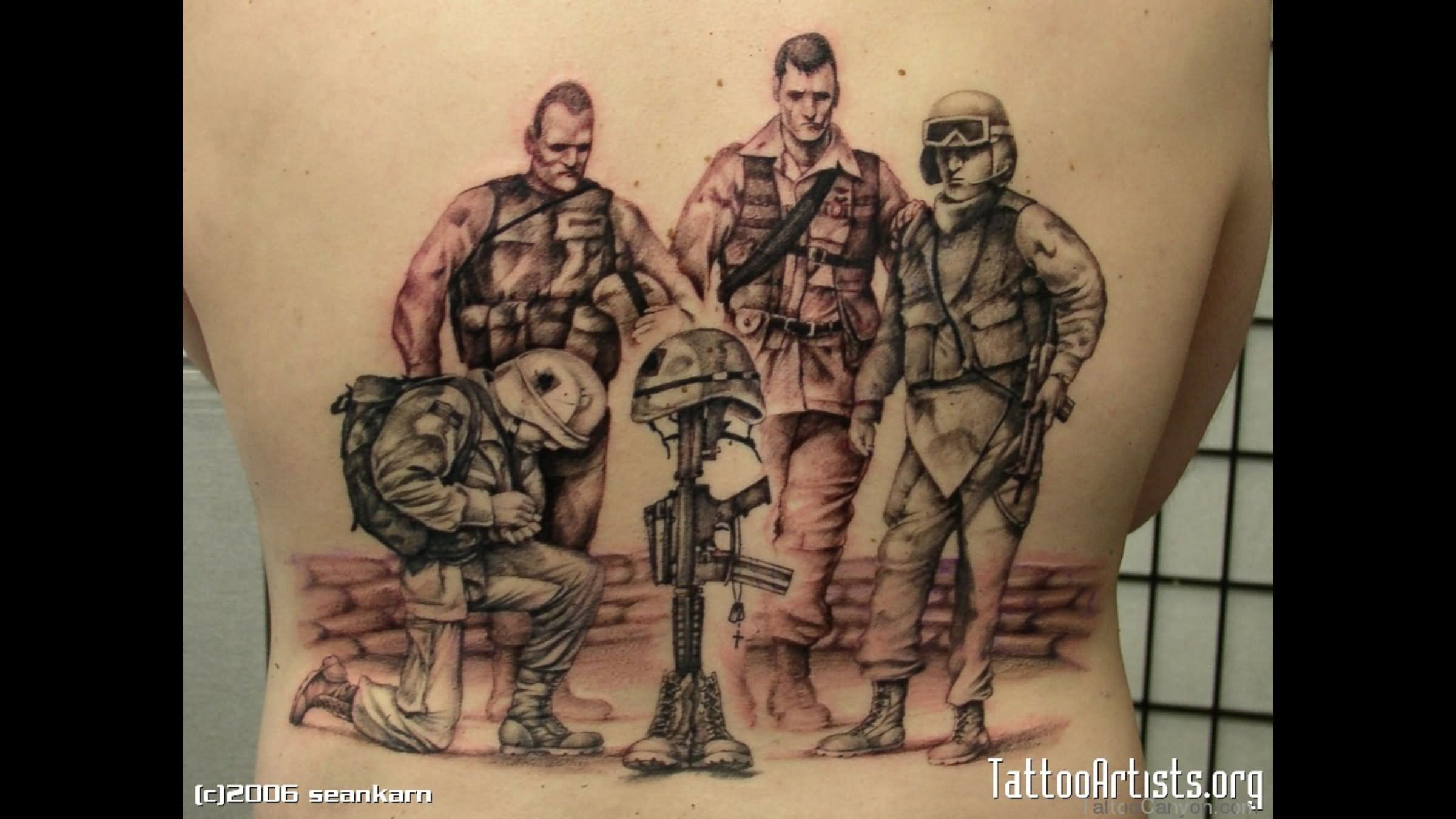 45+ Memorial Army Tattoos Ideas