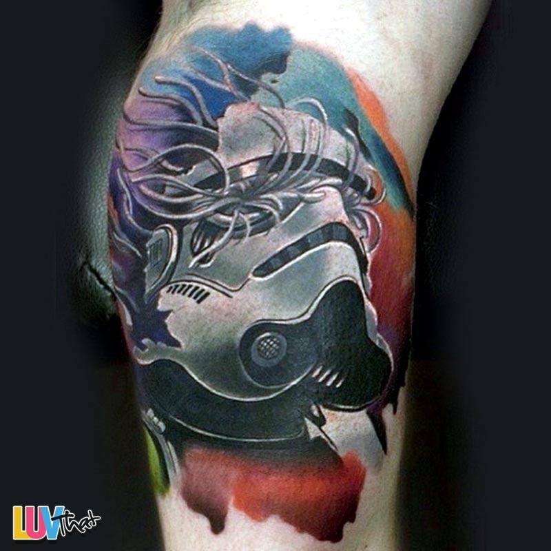 48 Mind Blowing Helmet Tattoos