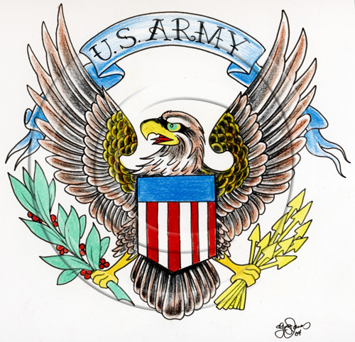 8 Incredible Army Tattoo Designs