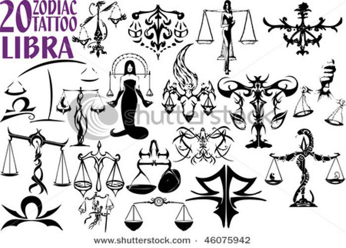 25+ Beautiful Libra Tattoo Designs