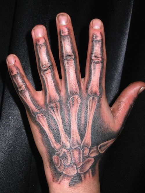 19 Bone Tattoos On Hands