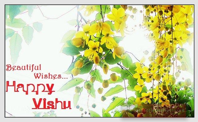 Beautiful wishes happy vishu m4hsunfo
