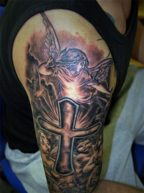 Christian Tattoo Sleeve Templates