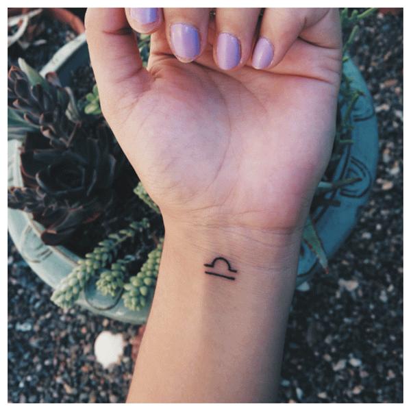 30+ Cute Libra Tattoos