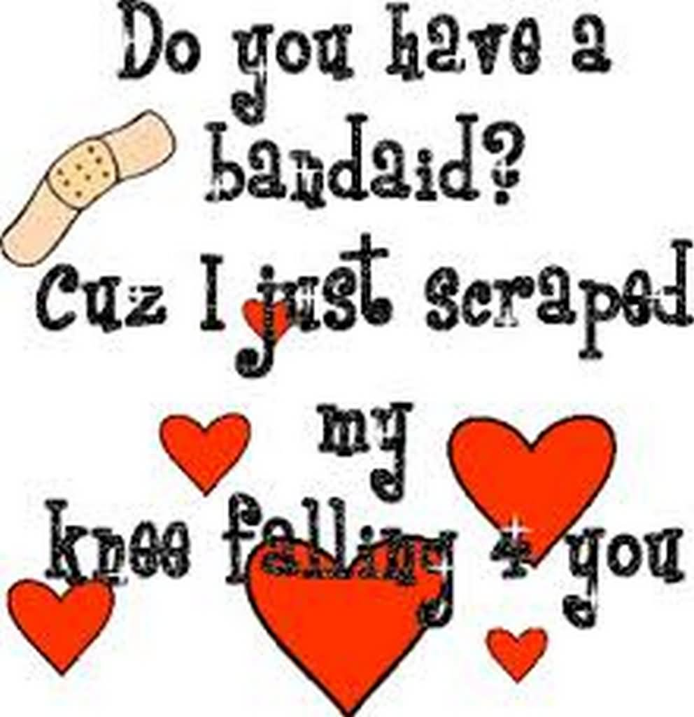 Funny Love Quotes Do You Have Bandaid Funny Love Poem Image