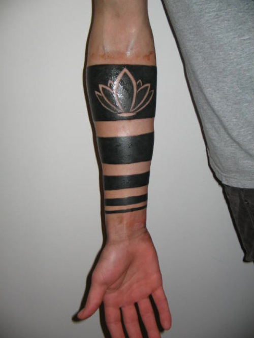 34+ Incredible Solid Band Tattoos