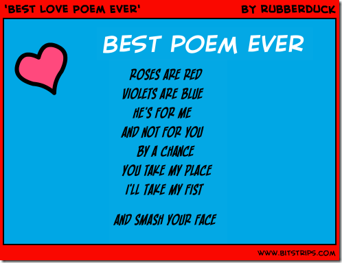 silly love poems