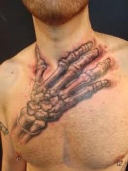 19 bone tattoos on hands