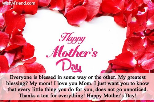31 very best mothers day greeting pictures and photos happy mothers day everyone is blessed in some way or the other m4hsunfo