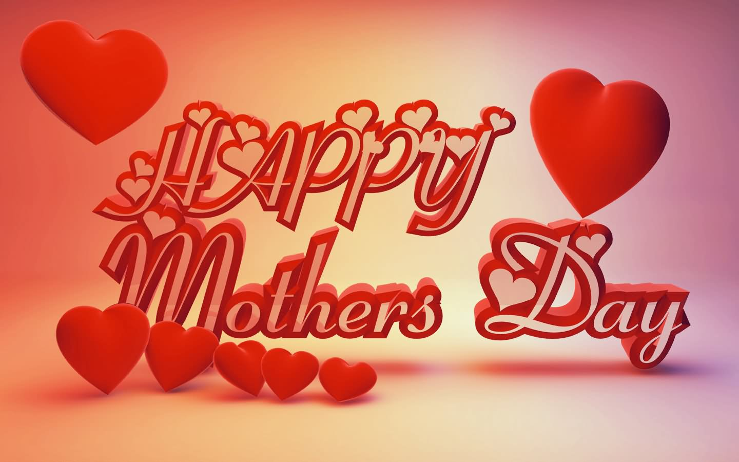 happy mother s day hearts picture