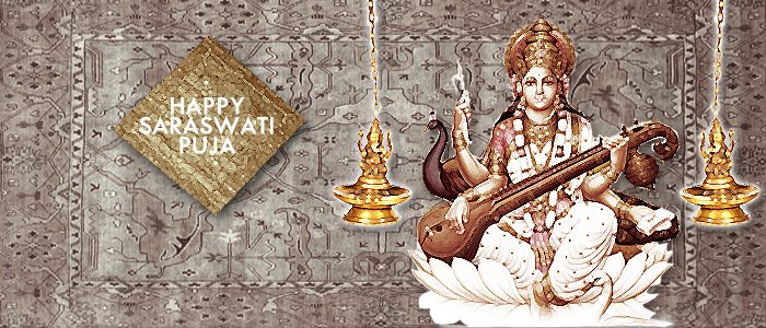 52 Very Beautiful Saraswati Puja Wish Pictures And Images