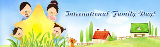 International Family Day Header Image
