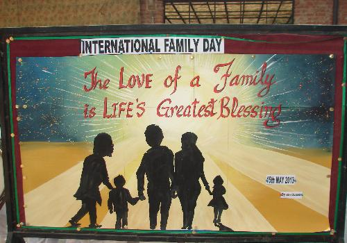 International Family Day The Love Of A Family Is Life's Greatest Blessing