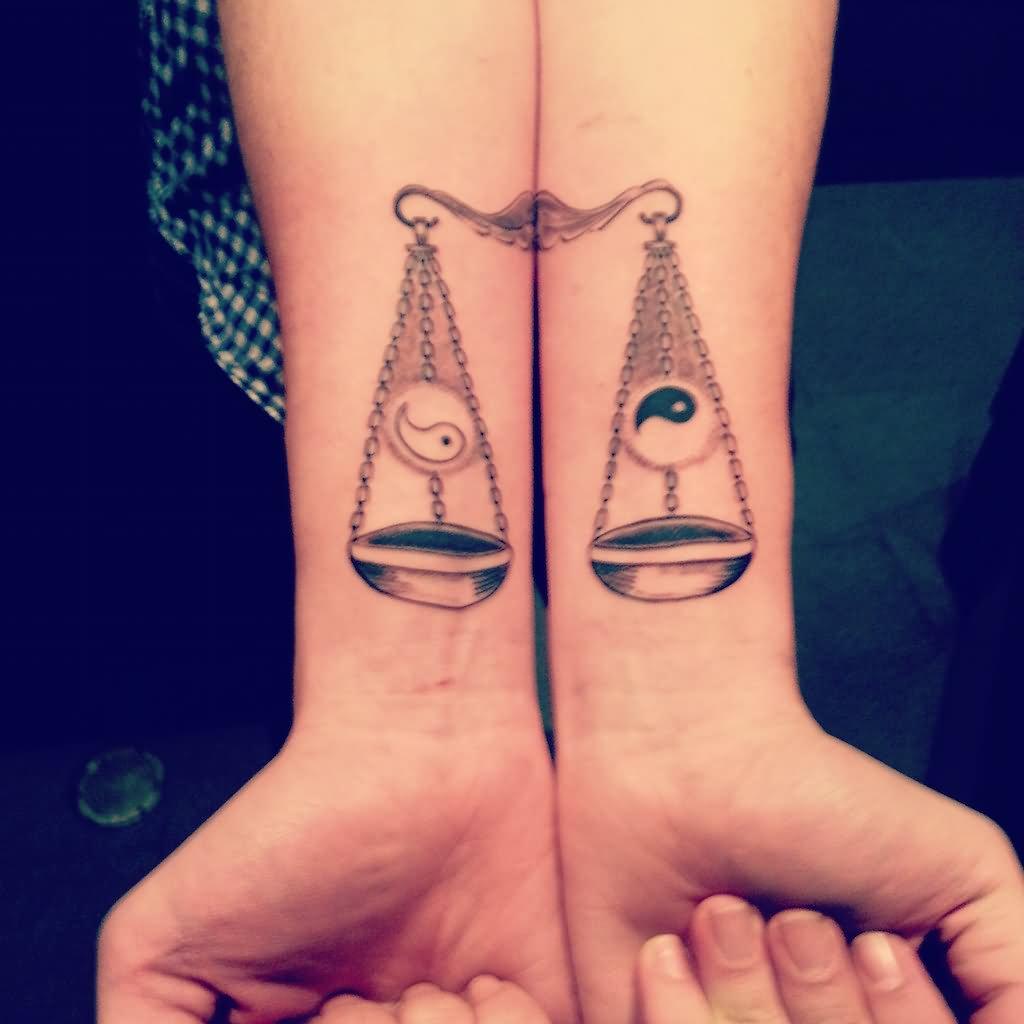 20 mind blowing libra wrist tattoos
