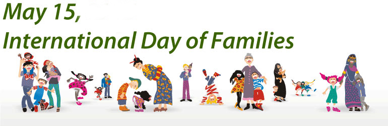 May 15 International Day Of Families Header Image