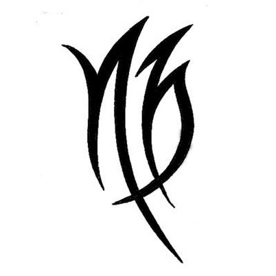 15 Famous Virgo Tribal Tattoos