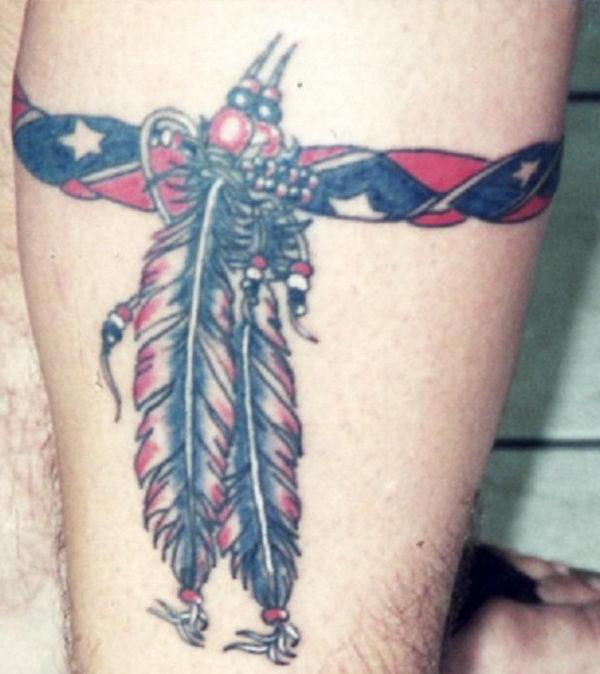 23 awesome leg band tattoos