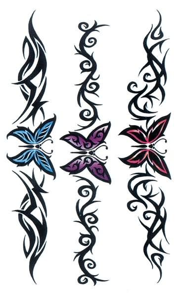 32 latest band tattoo designs and ideas for Butterfly tattoo arm designs