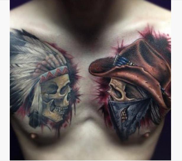 40+ Latest Cowboy Tattoos