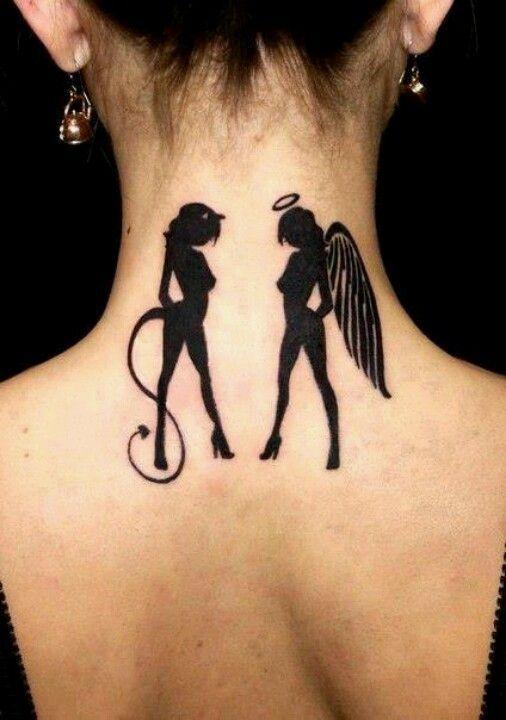 6 Gemini Tattoo Angel And Devil