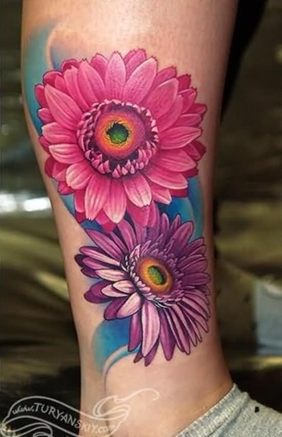 85 Best Daisy Flower Tattoo: 35+ Cute Daisy Tattoos
