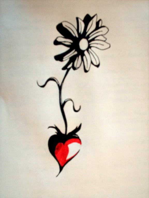 Daisy Tattoo Stencil: 20+ Daisy Tattoo Designs
