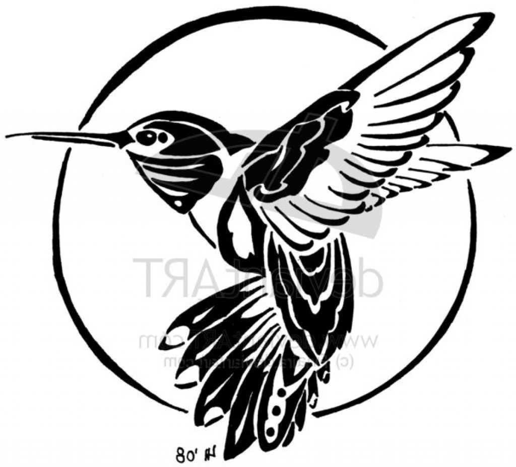 Simple Hummingbird Stencil Related Keywords & Suggestions - Simple ...