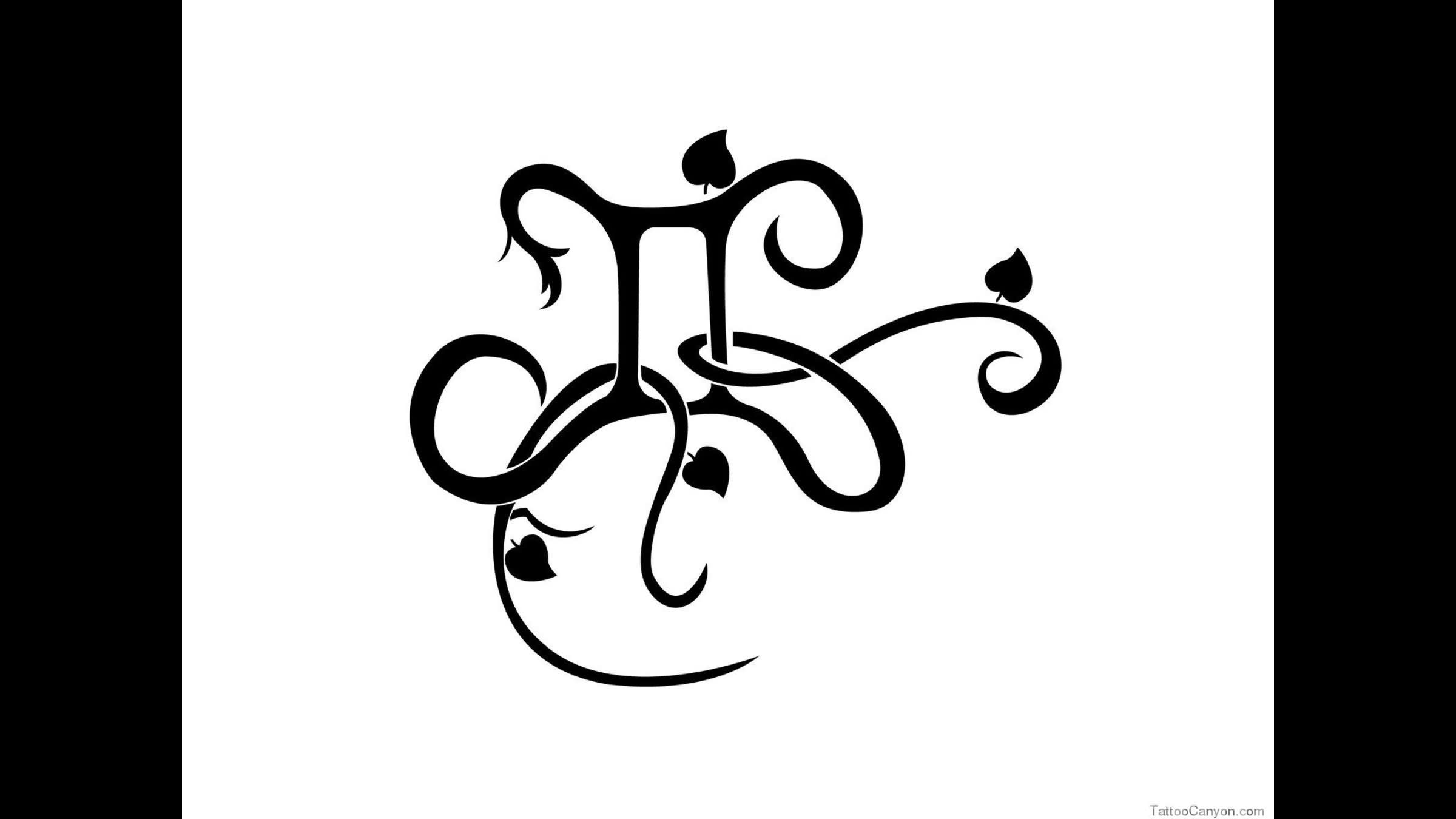 73498ec2e991f Black Ink Gemini Zodiac Sign Tattoo Design Idea