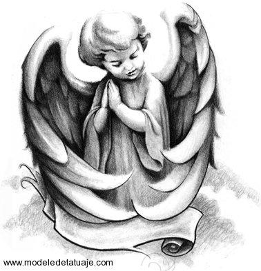 25+ Cute Cupid Cherub Tattoo Designs